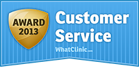 What Clinic Customer Service Awarda