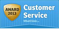 What Clinic Customer Service Awarda