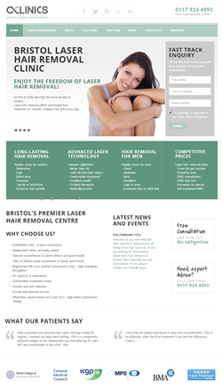 bristol laser hair removal website