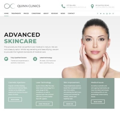 Welcome to our New Website! | Quinn Clinics Bristol