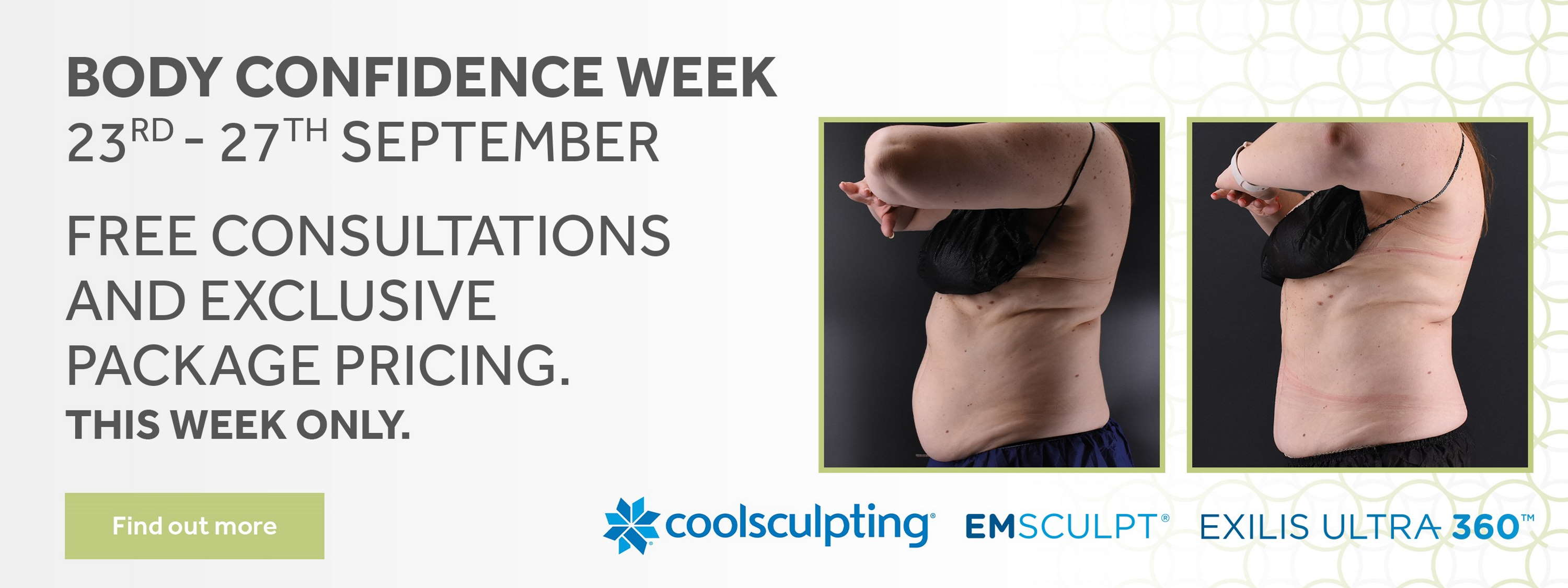 Body confidence event banner
